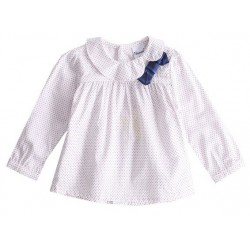 Blouse col claudine LINA